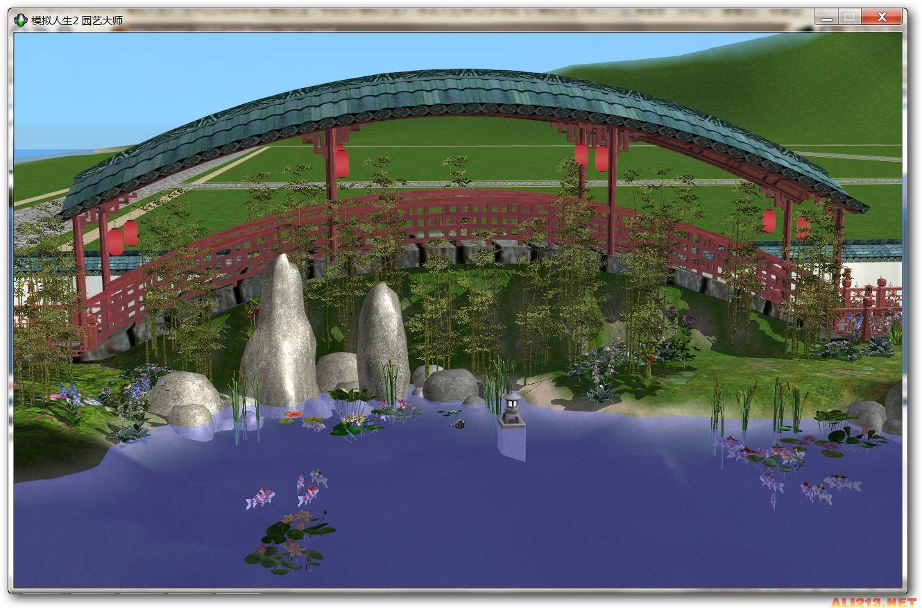 模拟人生2江南古典园林